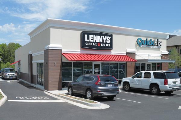 Lennys franchise location exterior